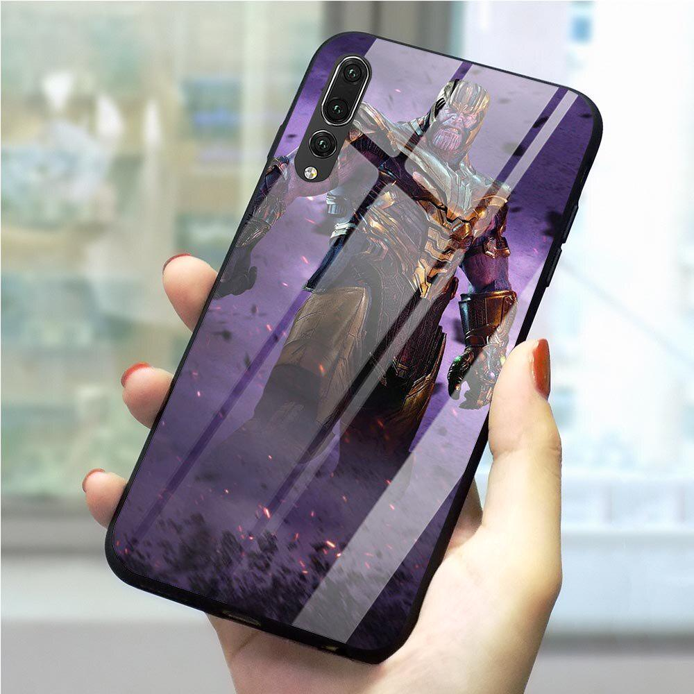 Spider Man Avengers Phone Cover For Huawei Mate 20 P20 P30 Pro Lite Honor 10 Y6 Y9 Glass Shell-buy at a low prices on Joom e-commerce platform