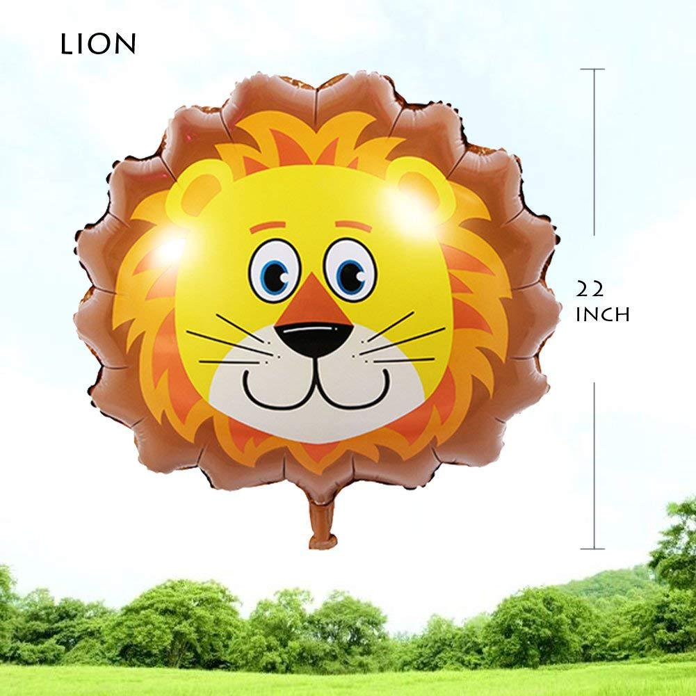 40 x Giant Elephant Shaped Animal Safari Jungle Birthday Party Latex Balloons