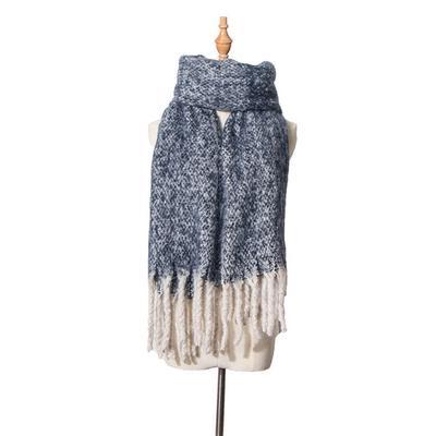 656ecaa160f5 Bufanda mujer otoño Poncho capa poliéster bufandas hombres invierno mantón accesorios  Manteau Femme Hiver
