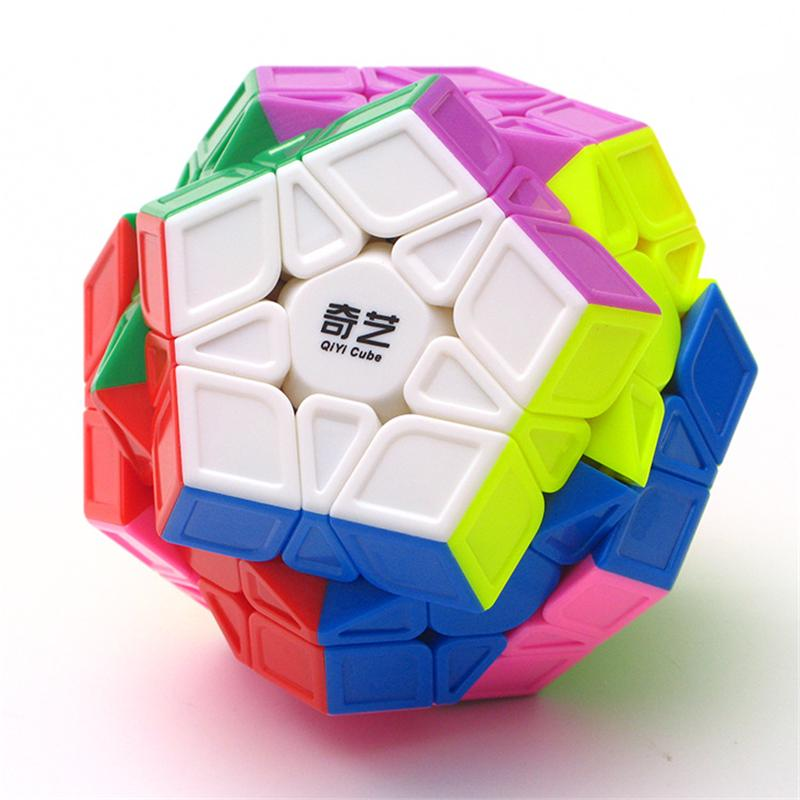 Puzzle cube xmd qiyi qi heng (s) 3x3x3 megaminx magic cube colorful speed  puzzle cubes toys for children kids cubo (m)