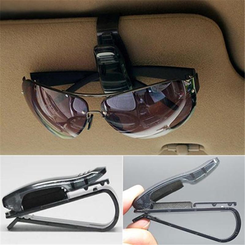 Auto крепежа автомобилей автомобиля козырька очки очки очки держатель карты билет перо клип фото