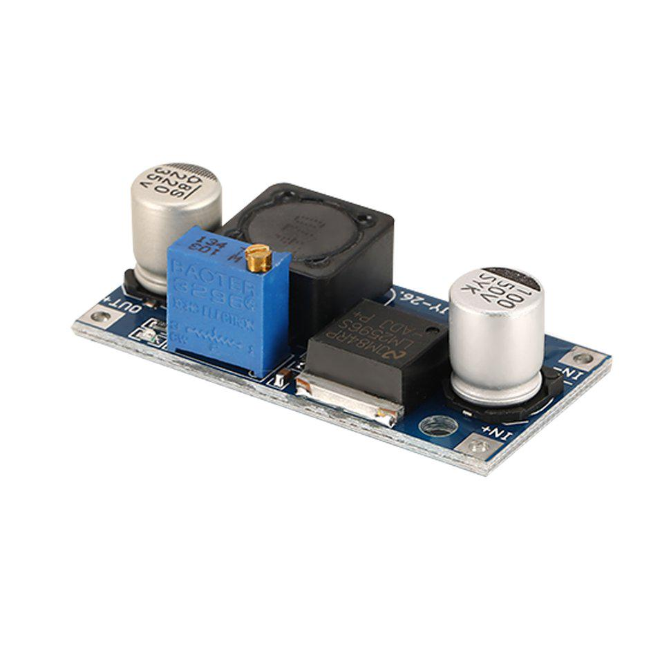 Step Down PSU Module LM2596 DC-DC Buck Converter Adjustable Power Supply
