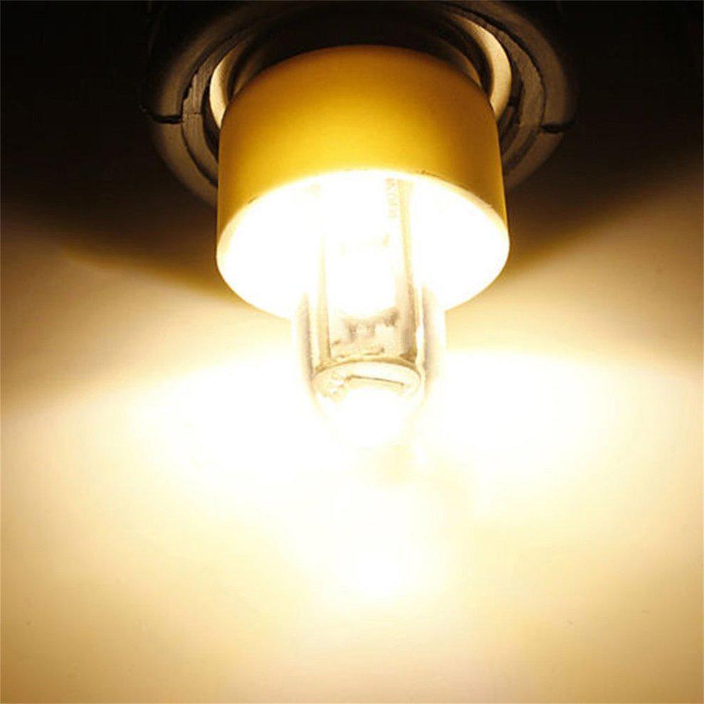 AC 220V E14 1W 7 LED 5050 SMD PureWarm White Refrigerator Light Bulb Lamp