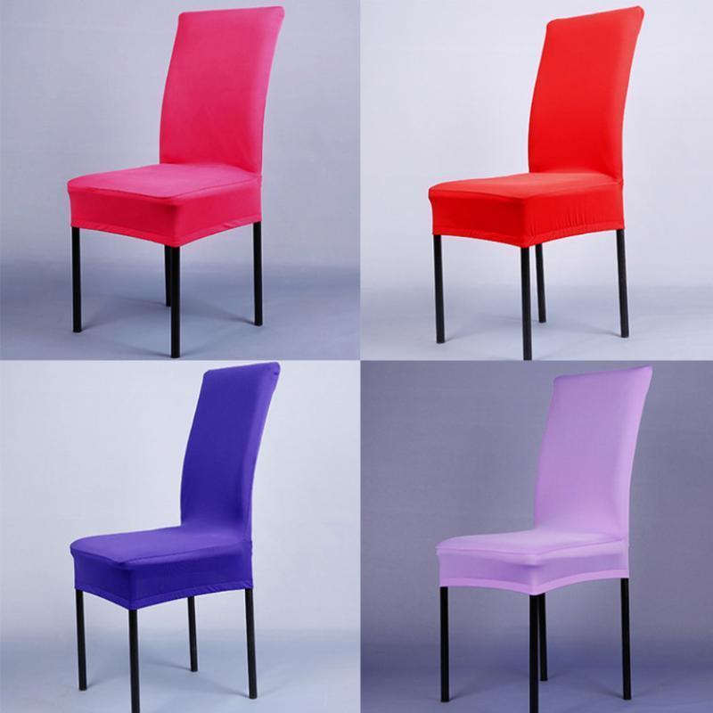 14 Farben deckt Spandex Lycra Stuhl decken Esszimmer Stuhl ...