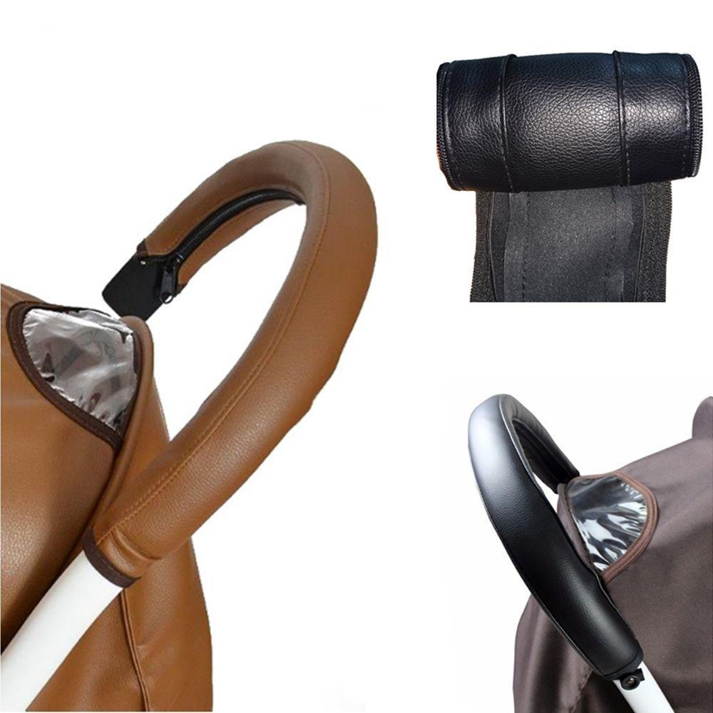 Carriage Stroller Grip Cover Pram Hand Glove Zipper Pushchair Handle Sleeve