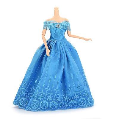 4Pcs Mode Hochzeit Brautkleid Kleid Kleidung Outfit für Barbie Doll ...
