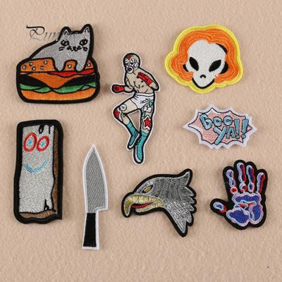 Hot Rabbit Cat Sew On Patch Cute Funny Craft Gift Clothing Transfer DIY Applique