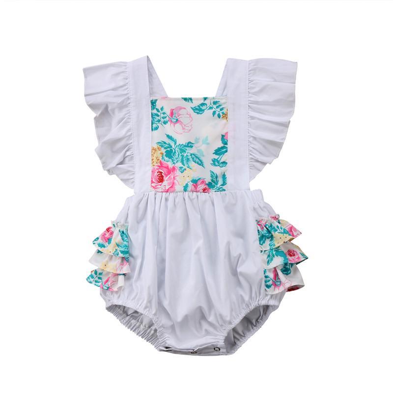 NWT Baby Girls Unicorn Romper Jumpsuit Sunsuit Bodysuit 0-6 6-12 12-18 18-24 M