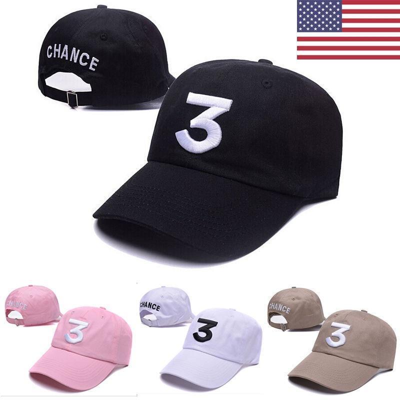 sale usa online e8b56 1ccce new chance the rapper 3 dad hat baseball cap  adjustable yeezy strapback black eaf7602076aa