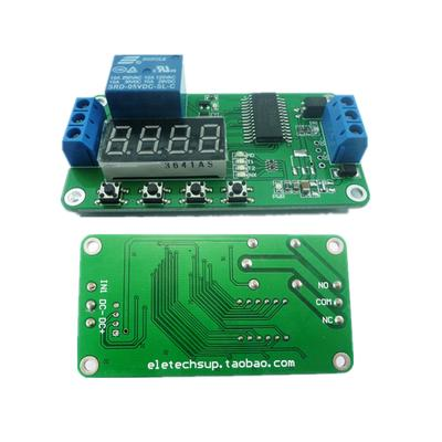Time Delay Relays DC 12V DPDT Delay Relay Board Time Switch PLC ...