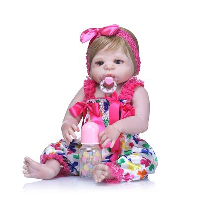 Dolls & Stuffed Toys 100% Quality 28cm Boy Silicone Reborn Baby Doll Children Playmate Gift Toys For Girls Dolls Reborn Knit Wear Bathable Clothes Bebe Reborn Toys & Hobbies