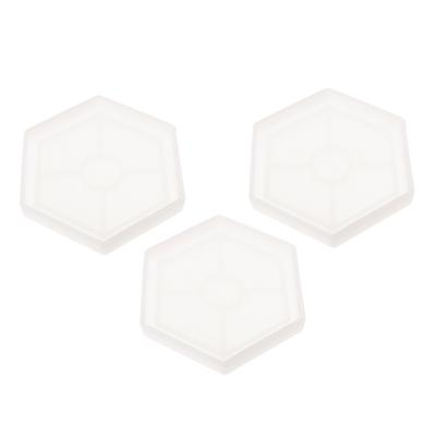 Resin Casting Epoxy Mold Silicone Hexagon Mould DIY Jewelry Making Coaster