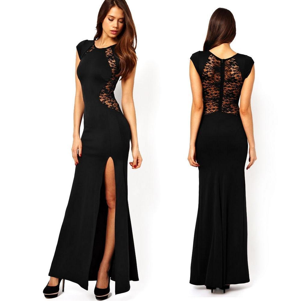 Women Summer Sexy Lace Cap Sleeve See Through Maxi Dress-buy at a low  prices on Joom e-commerce platform 431ba7731548