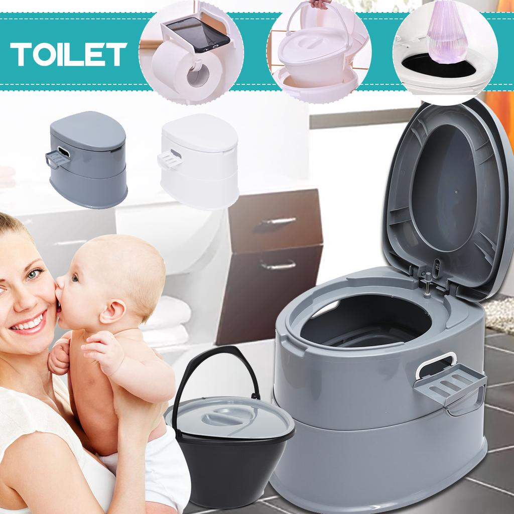 Portable Toilet Travel Camping Commode Potty Outdoor Pregnant Movable Toilet US
