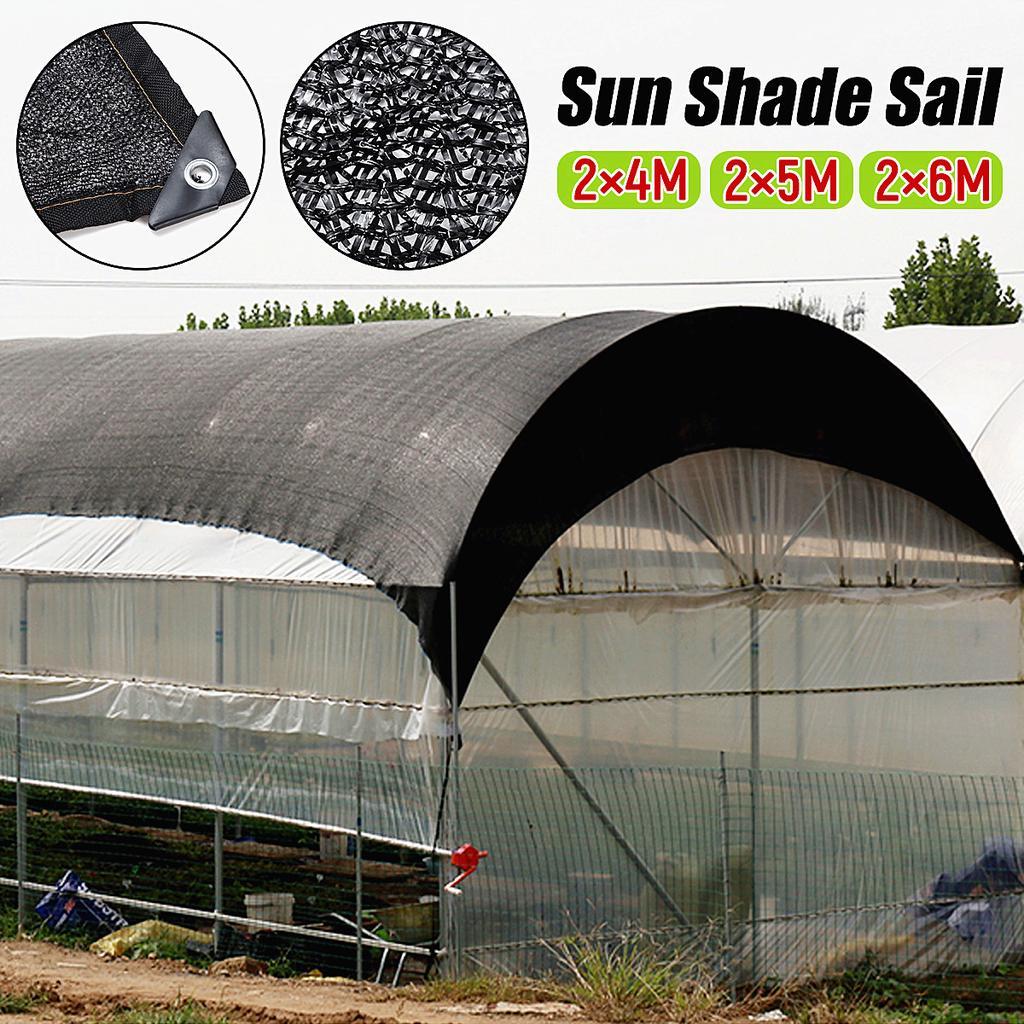 Heavy Duty Black Net Shade Mesh Tarp For Plant Cover Top Shade Cloth Tools New