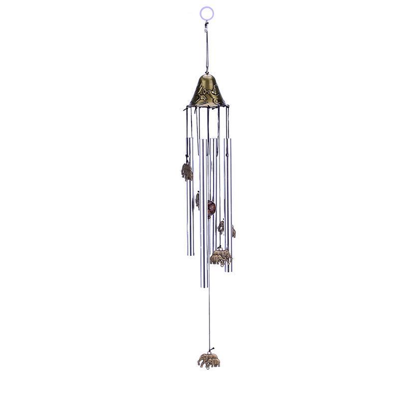 Wind Chimes Indoor Outdoor Bells 6 Tube Garden Decor Ringing Good Luck Hanging