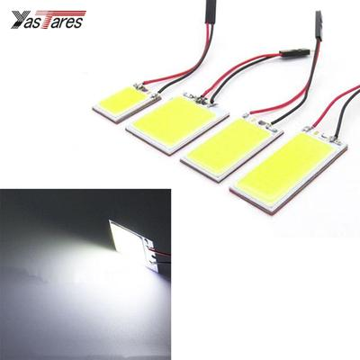 2x HID White 24 COB LED Panel Light For Car Auto Interior Trunk Reading Lamp