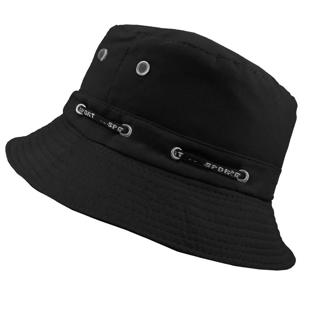 c1b7eff6ad8 Bucket Hat Cap Cotton Fishing Boonie Brim visor Sun Safari Summer ...