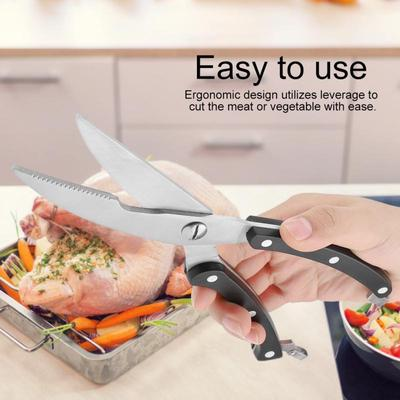 Kitchen Stainless Steel Cut Chicken Bone Scissors Thickened Kitchen Scissors Scissors Accessories Buy At A Low Prices On Joom E Commerce Platform