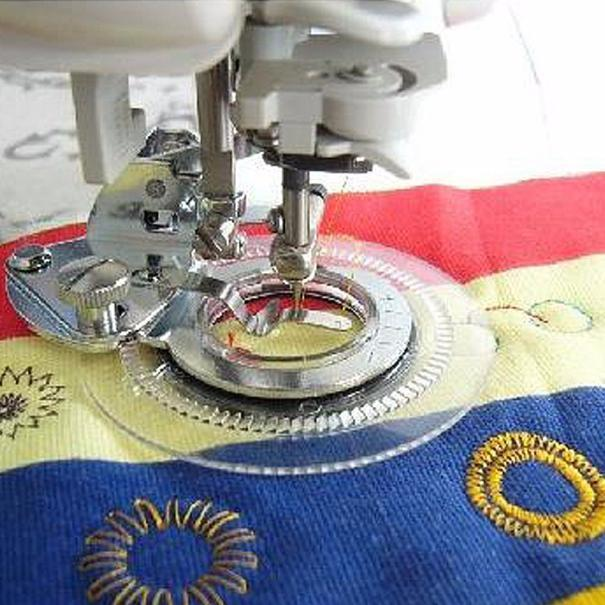 SEWING MACHINE QUILTING WALKING FOOT EVEN FEED FOOT FITS JANOME//BROTHER//TOYOTA