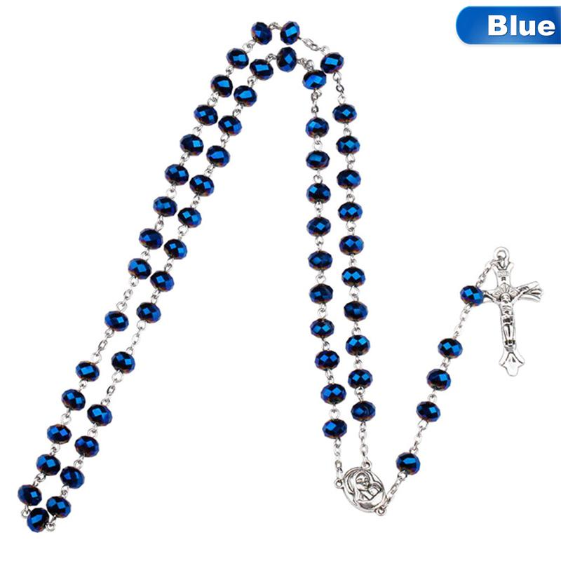 White Color Custom Rosary with YOUR PHOTO Handmade medal Jewelry Pendant