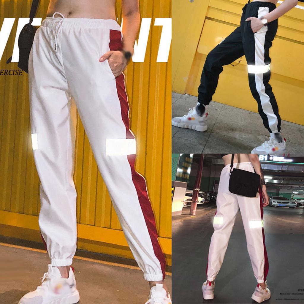 Sebaby Women Pocket Workout Highwaist Casual Leisure Baggy Style Long Pants