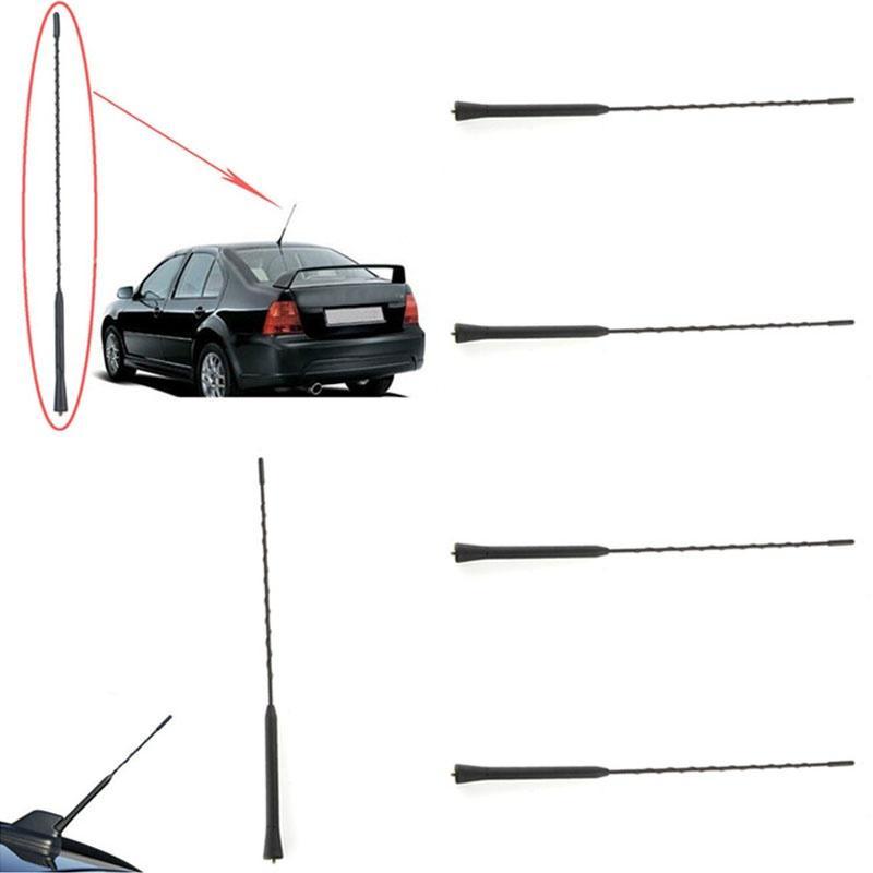 "New Auto Car 16 Inch Screw On AM//FM Fuba Roof Mast Whip Antenna 16/"" Universal"