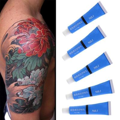 how to numb skin for tattoo