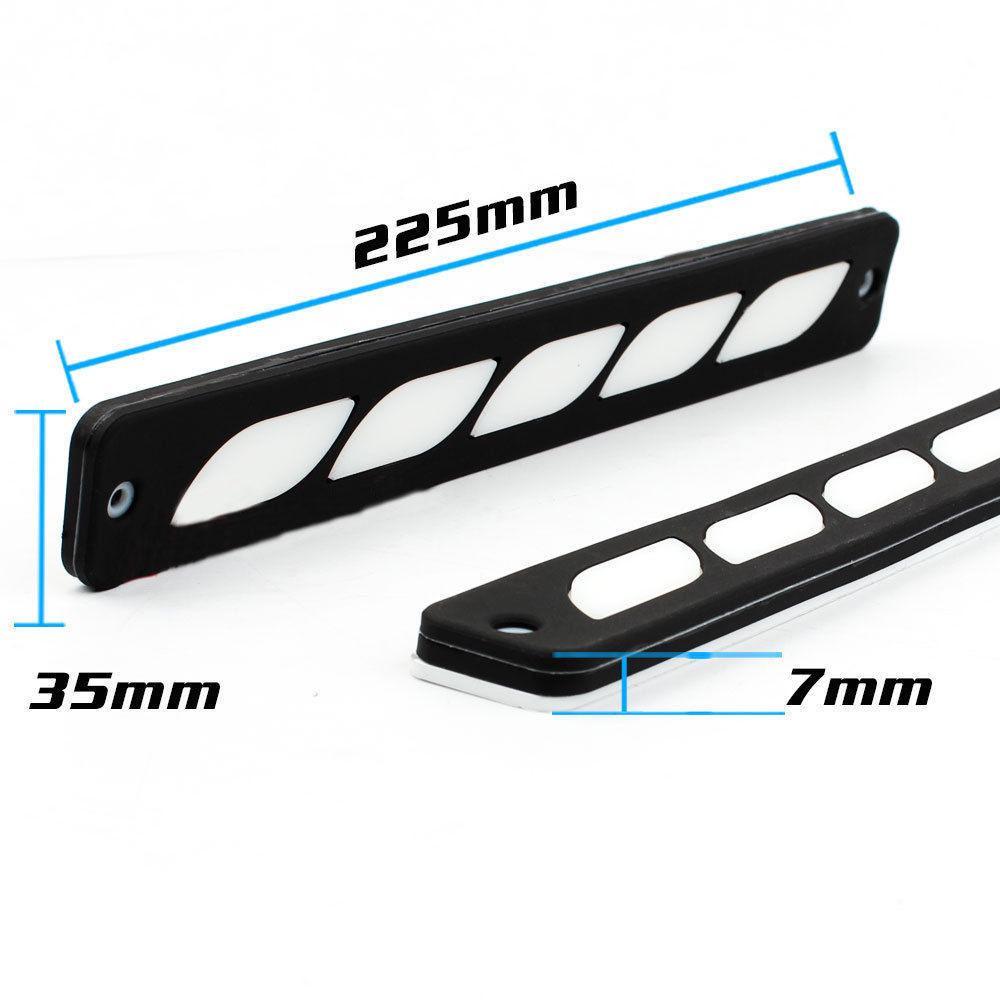 MagiDeal 1 Par Universal 8 LED Luces de Circulaci/ón Diurna Bombilla Ultra Brillante Blanca DRL
