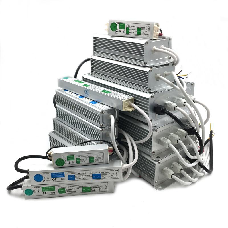 Dc 12v 24v Led Driver Lighting Transformers Power Supply Led Driver Ip67 Waterproof Power Adapter Buy From 7 On Joom E Commerce Platform