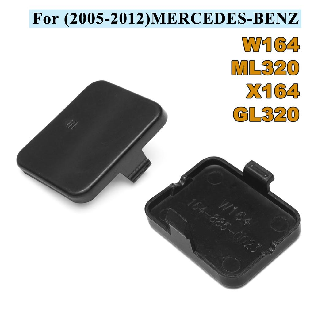 1 piece Front Bumper Tow Hook Cover Cap for Mercedes W164 ML320 X164 GL320 05-12