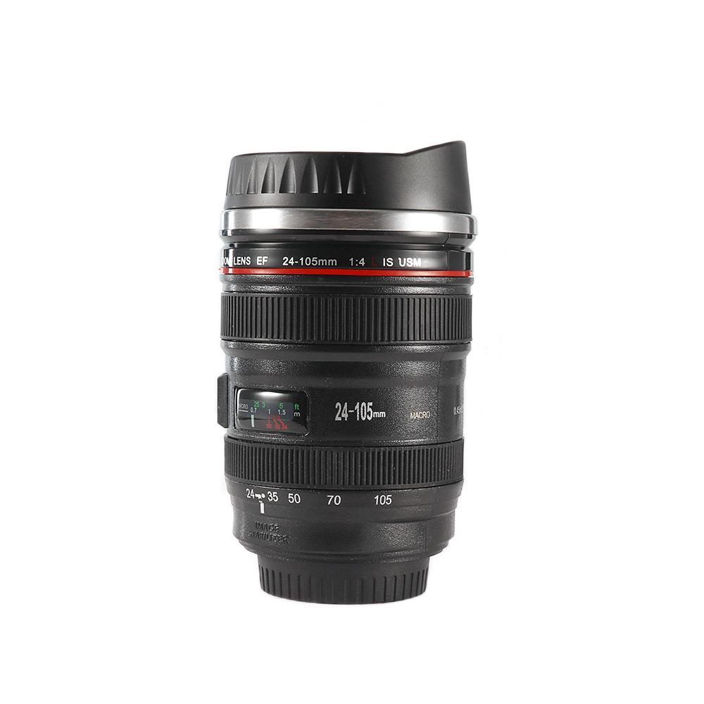 38f42a1198 Termo de lente de cámara para Canon EF 24-105mm taza de café bebida ...