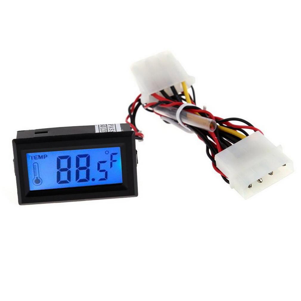 Mini Digital LCD Thermometer Temperaturanzeige Manometer Sonde Auto Wasser