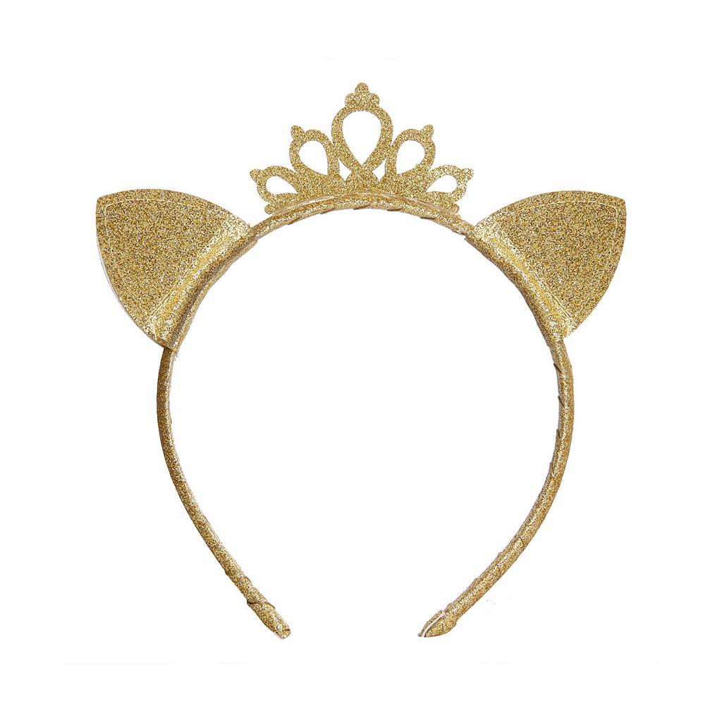 Baby princess cat ears tiara hairband hair head hoop band for kids headwear ZSHW
