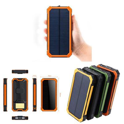 Power Source Consumer Electronics Led Dual Usb Ports Solar Panel Power Bank Case Charger Diy Kits Box For Samsung S8 Xiaomi Strong Resistance To Heat And Hard Wearing