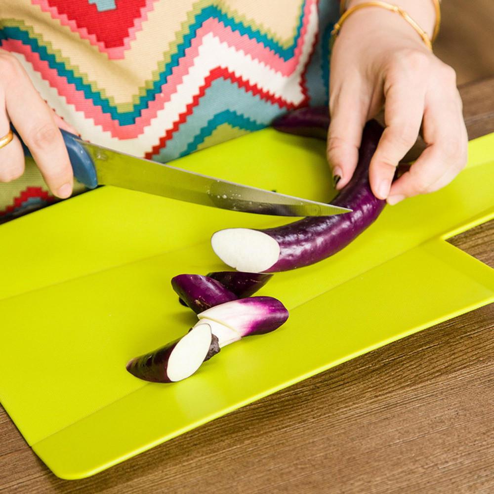 Falten, hacken, schneiden Board Set Halter verschiedene Gadgets ...