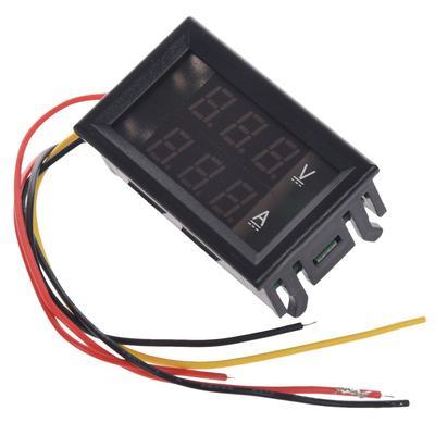 VOLTMETRO DIGITALE ISOLATO 0-20V AC  LCD BLU da pannello voltmeter power supply