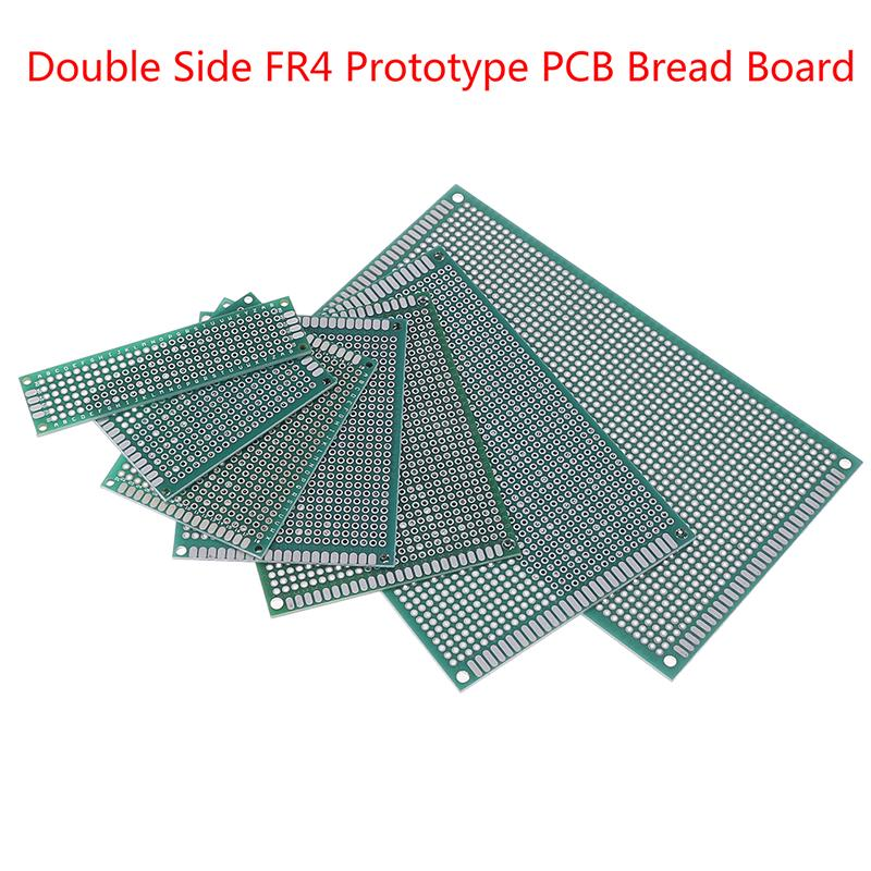10PCS 2x8 cm Double Side Prototype PCB Tinned Universal Breadboard 20mmx80mm FR4