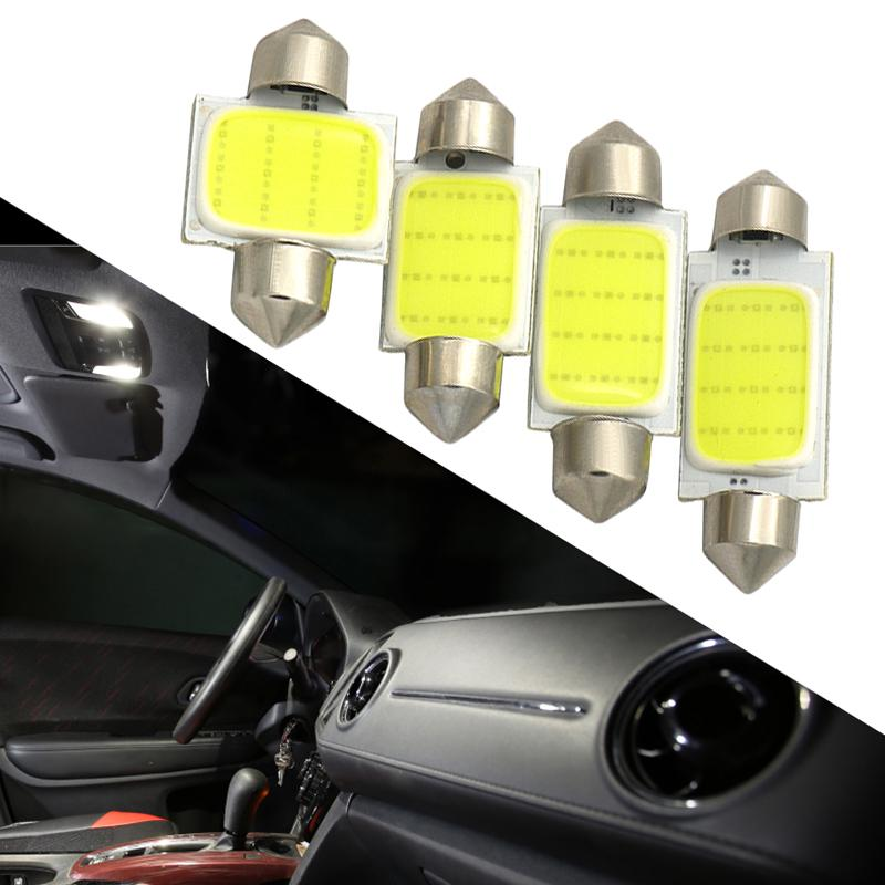 10X BA9S T4W Blue 8-SMD Car LED Interior Map Dome Door Indicator Wedge Lights