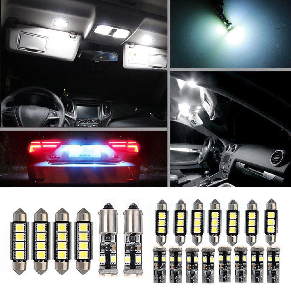 17pcs LED Interior Light Canbus Error Free Bulbs Kit For BMW 5 Series E60 E61 M5