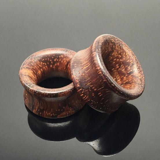 Organic Natural Stone Ear Flesh Tunnels Plugs Saddle Double Flare Ear Gauge 1pcs