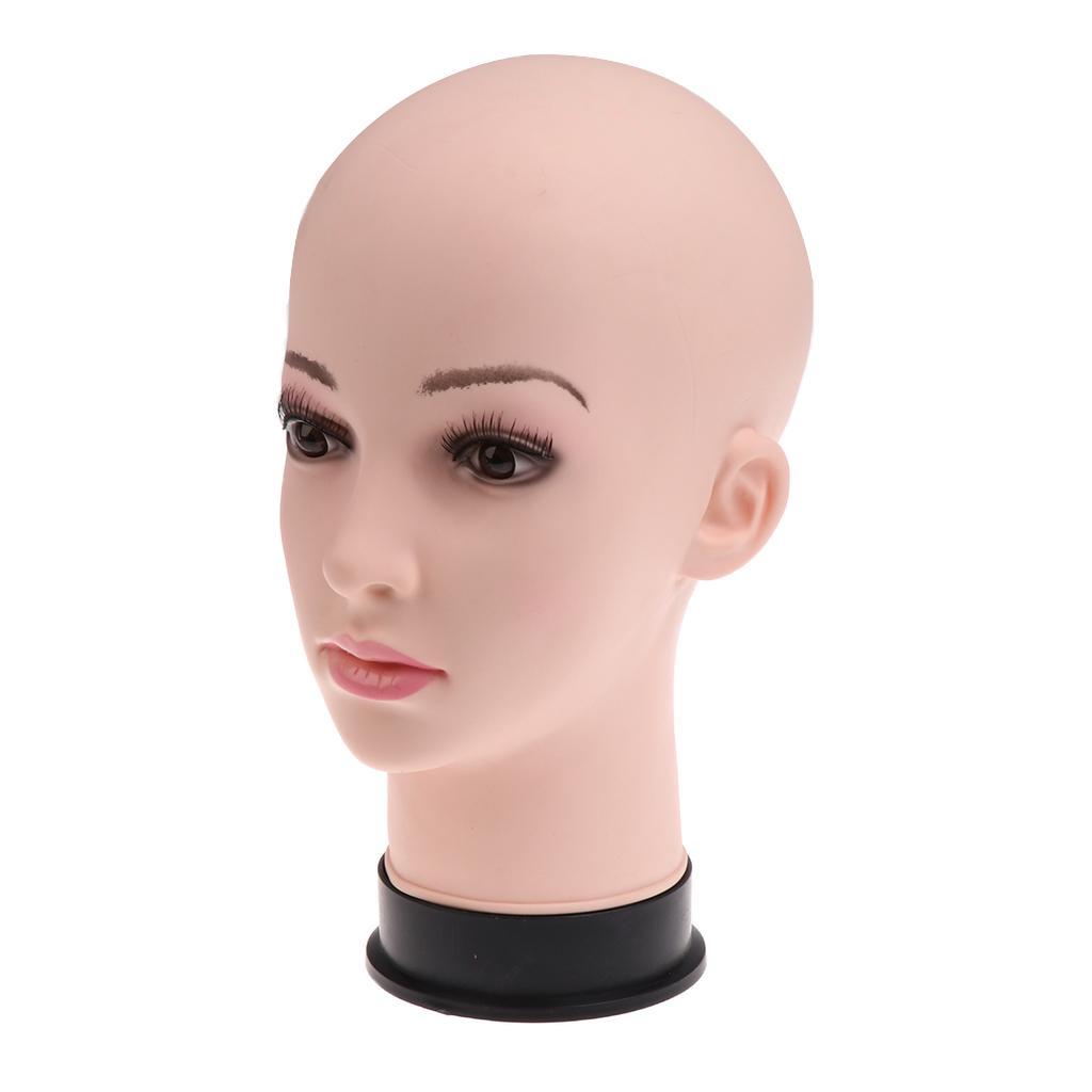 11 pulgadas de PVC de maniquí cabeza modelo maniquí pelucas ... 512fa1299af