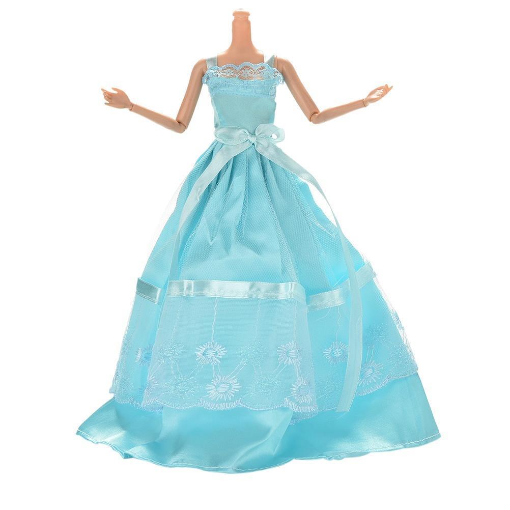 accesorios de Barbie Vestido de Barbies1 Vestido de fiesta de encaje ...