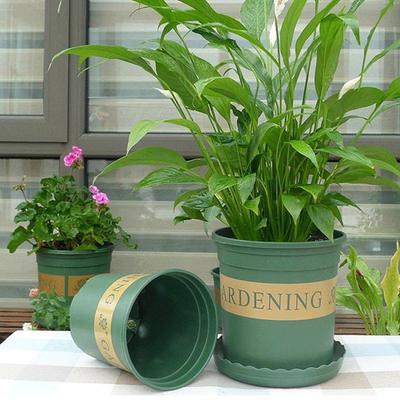 Details about  /Set Flower Pot Nursery 1 Gallons Vegetable Garden Gardening 4pcs Resin Baskets