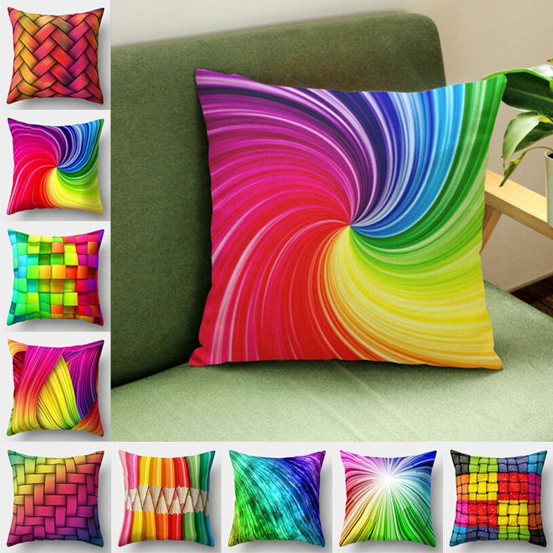 Чехлы в ярких расцветках для диванных подушек – купить по низким ценам в интернет-магазине Joom