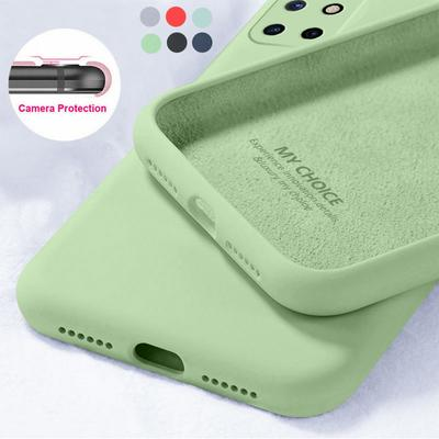 The Soft Candy Color Phone Case For OnePlus 9 Pro Nord 8 PRo 8T 7T 7 Pro 6T Liquid Silicone Case TPU Cover