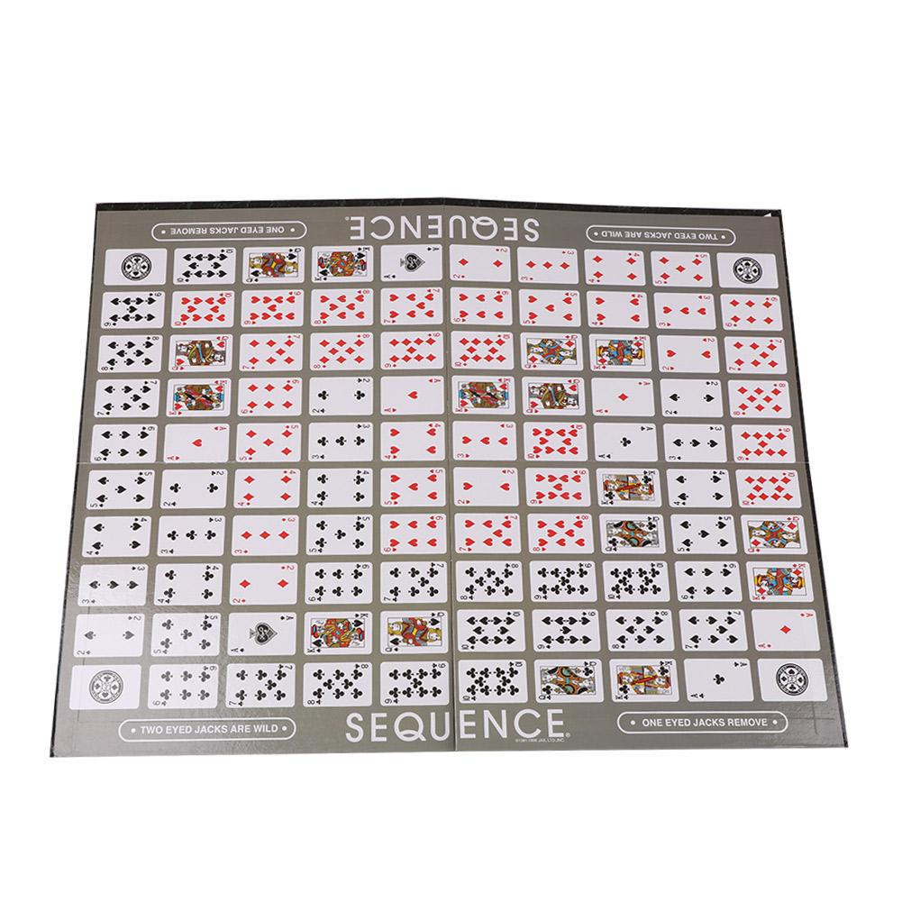 Funny Sequence Card Puzzle Board Game Party Playing Cards Table Games