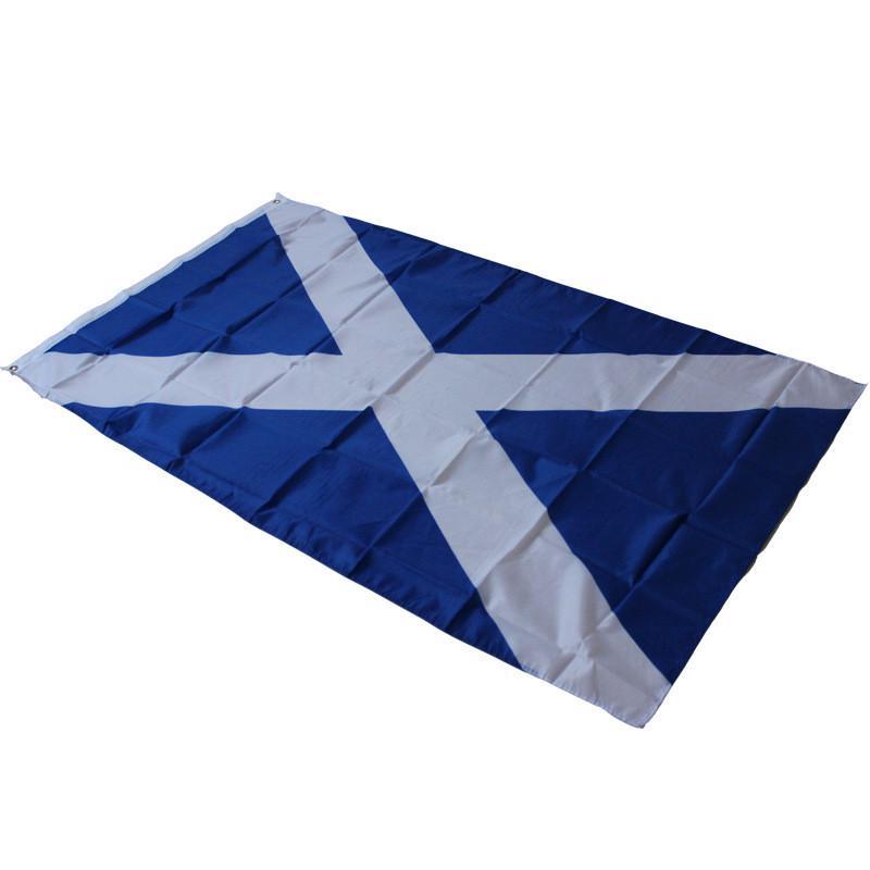 3x5ft Fabric Scotland Cross Flags Saint Andrew Banner Saltire Scottish Pennant