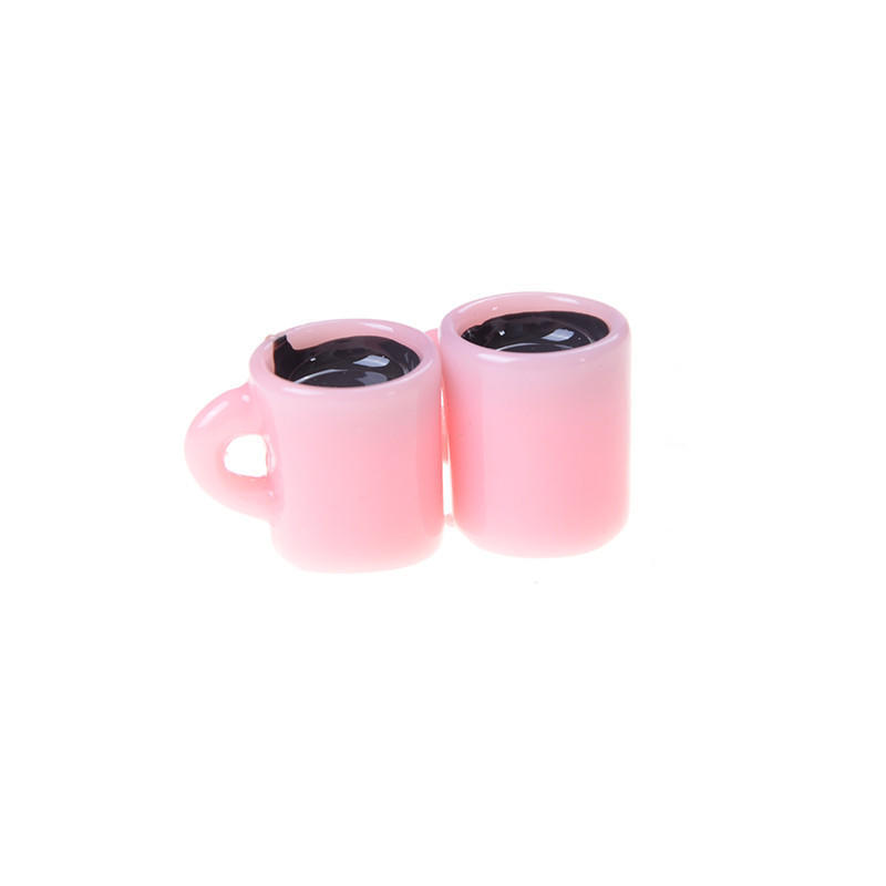 Set of 7pcs Dollhouse Miniature Starbucks Ice Cream Coffee Cups Hot Drink 1//6