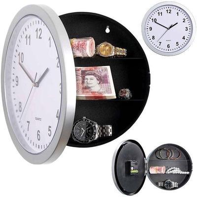 Unique Novelty Money Jewellery Storage Container Mechanical Storage Clock